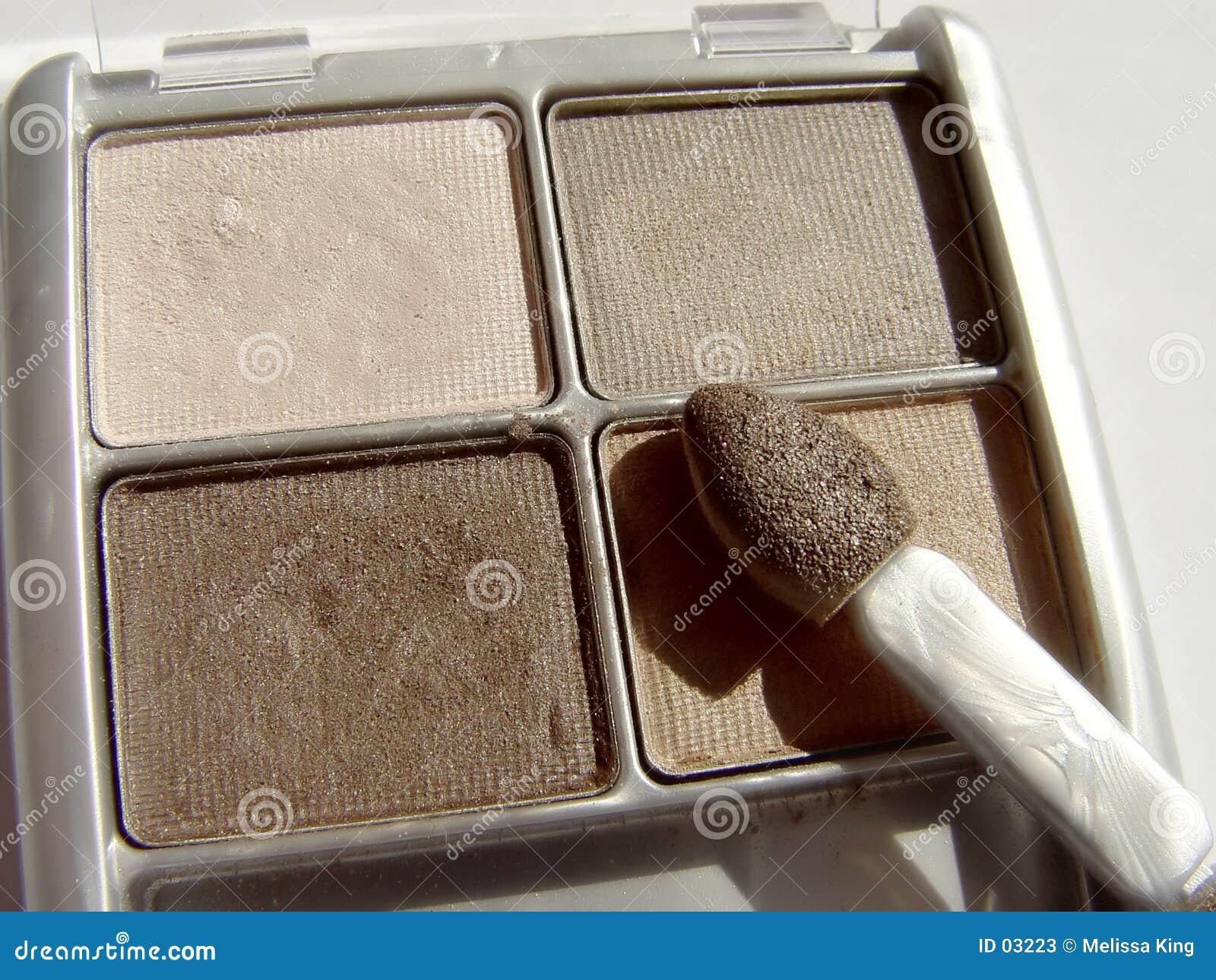 De aarde stemt de Make-up van het Oog