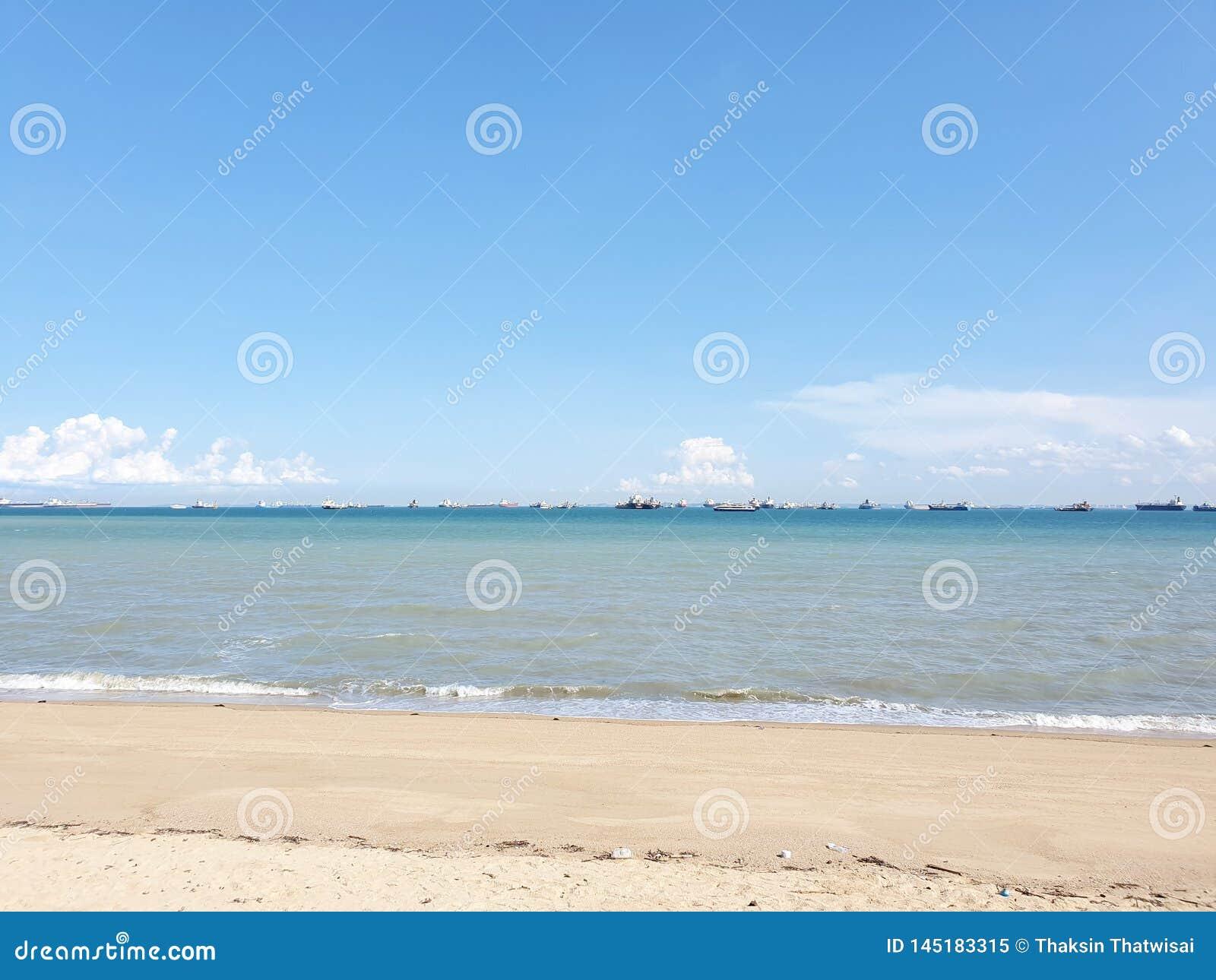 De aardoverzees van Singapore & oceaanhemel