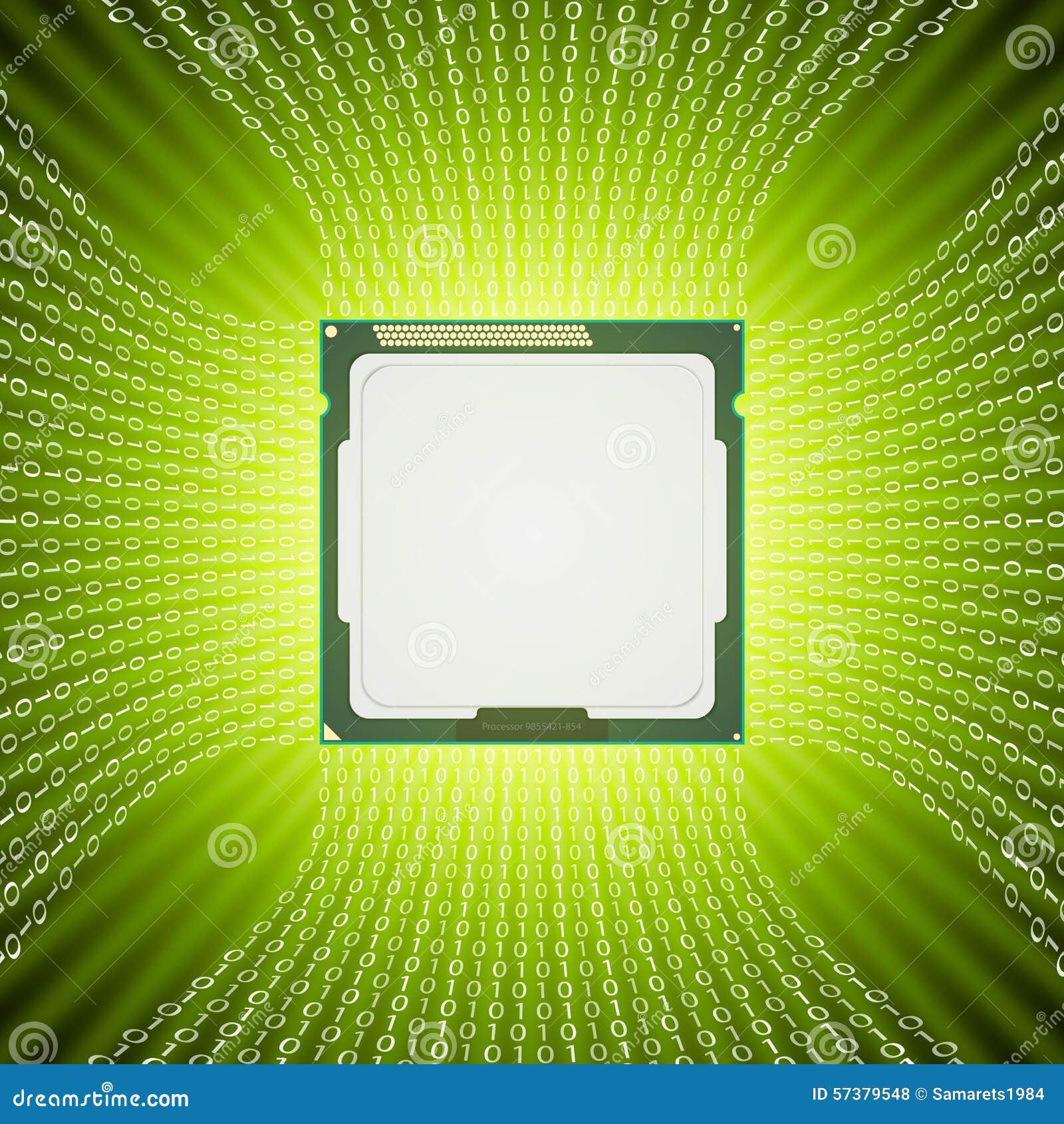De Abstracte Achtergrond van de technologie
