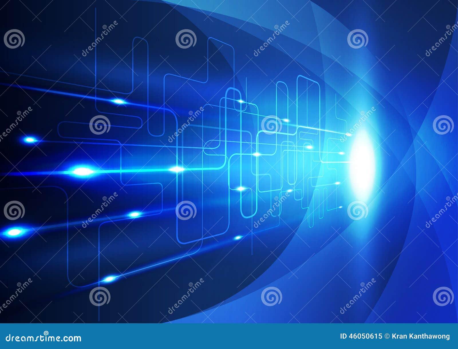 De abstracte achtergrond van de technologieinnovatie, vectorillustratie