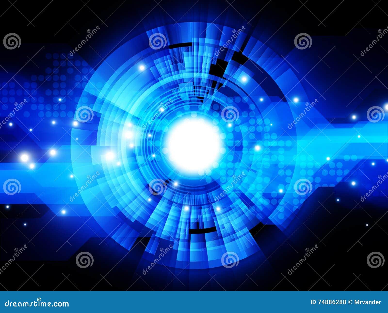 De abstracte achtergrond van het technologieconcept