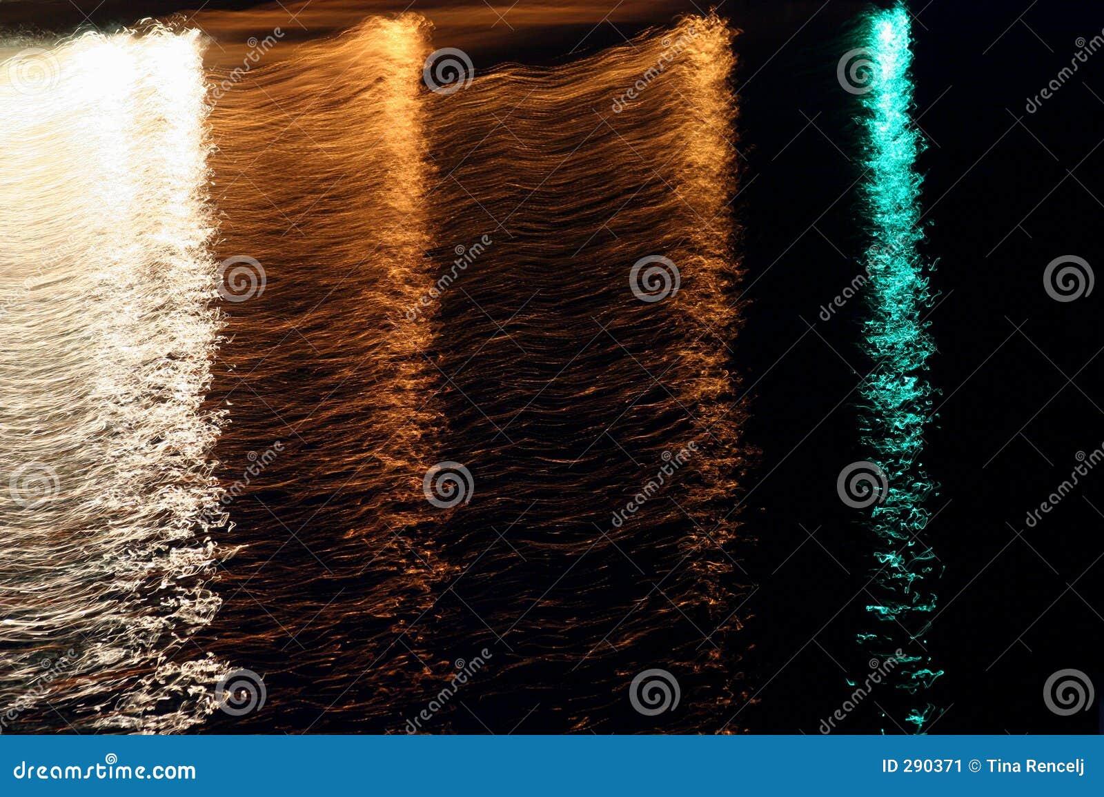 De abstracte Achtergrond van Lichten