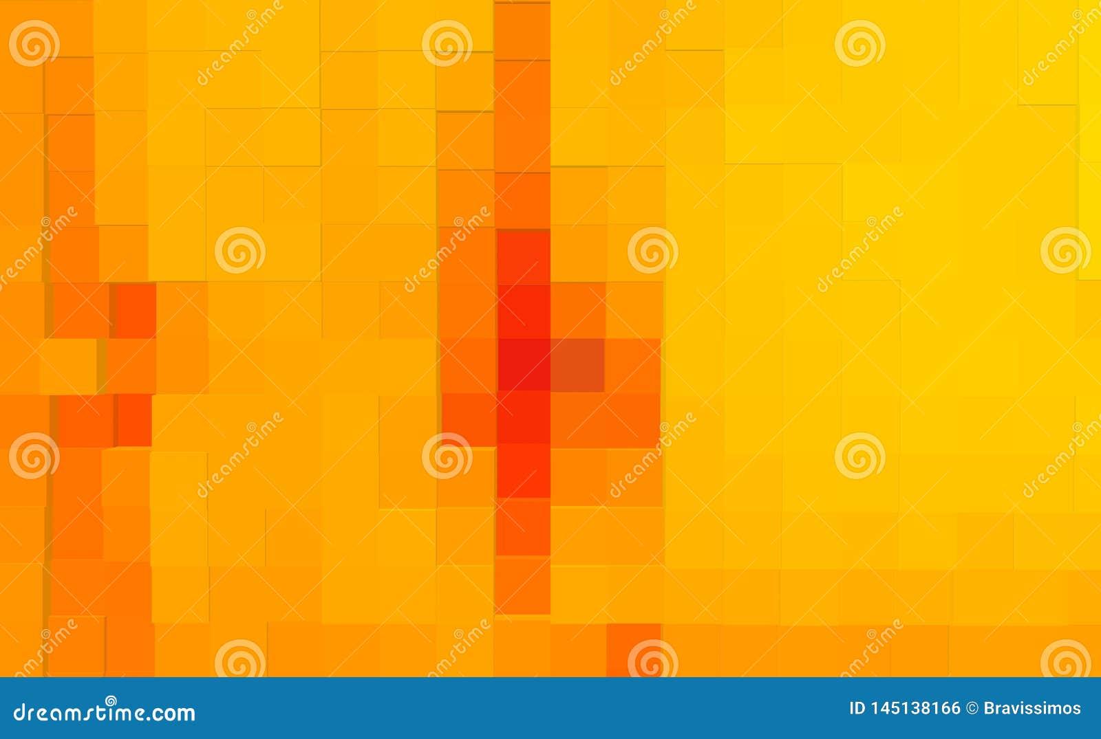 De abstracte 3d kubus drijft achtergrond, illustratiepatroon uit