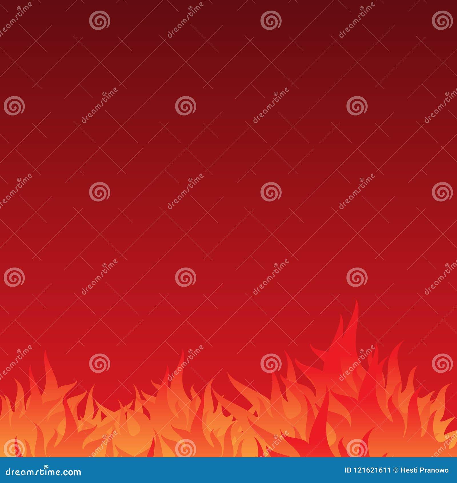 De abstracte en eenvoudige achtergrond van de brandwondvlam met gradatiekleur