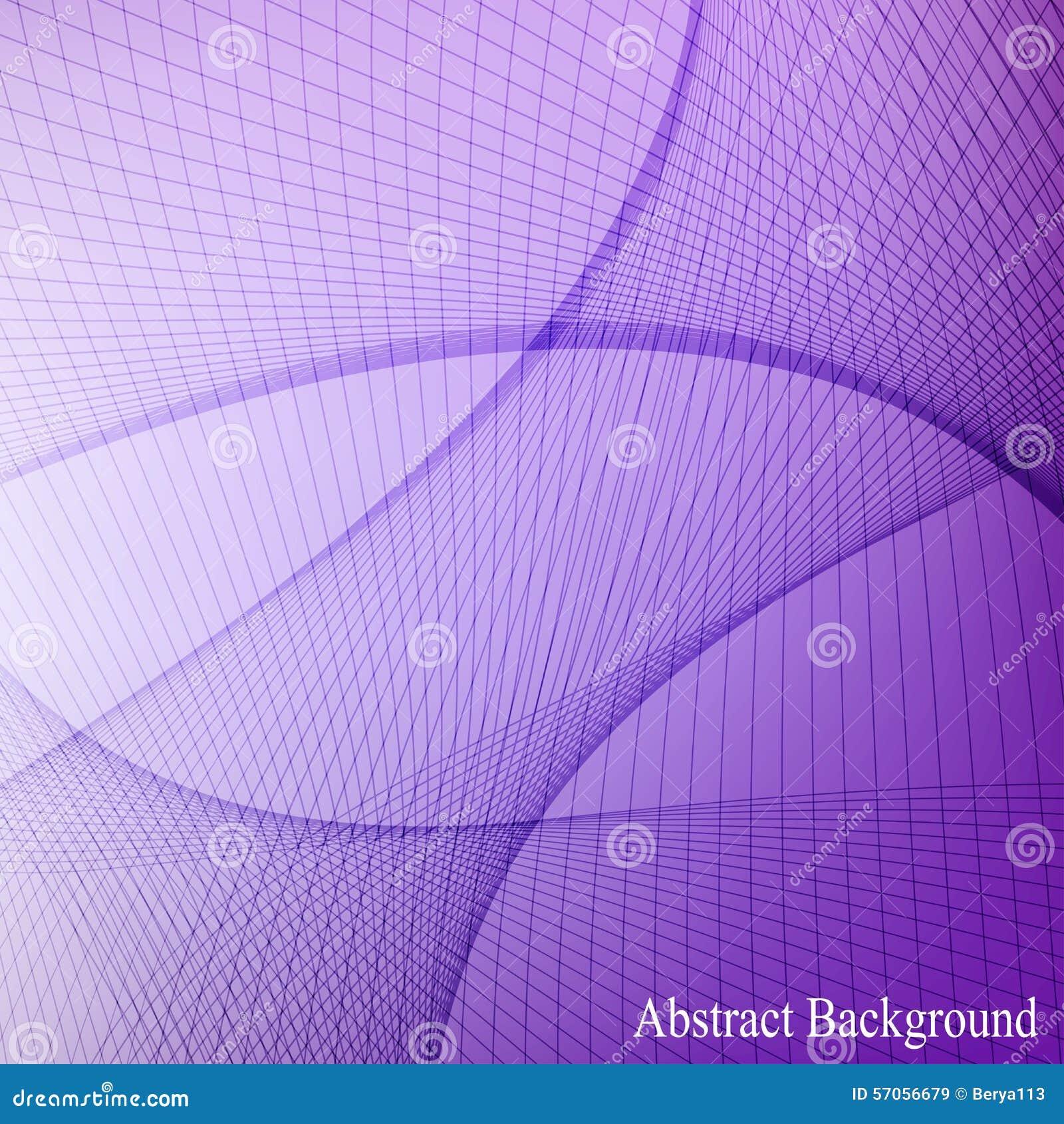De abstracte gebogen lijnen blured achtergrond Vector illustratie