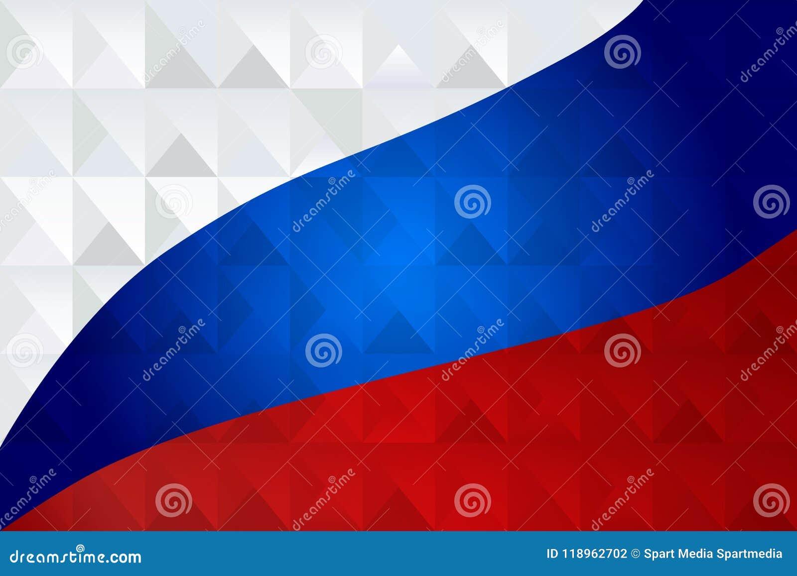 De abstracte geometrische patriottische achtergrond van het driehoeksmozaïek