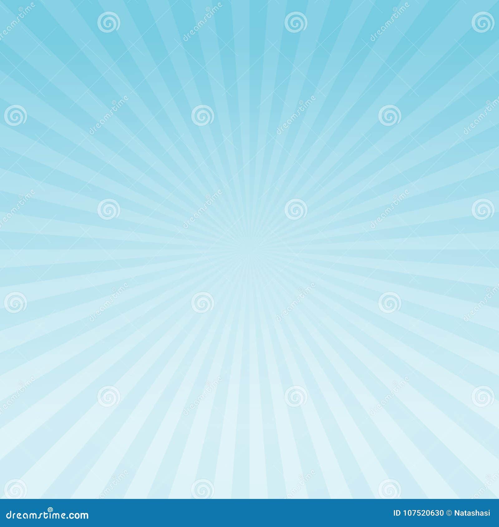 De abstracte lichtblauwe achtergrond van gradiëntstralen Vectoreps 10 cmyk