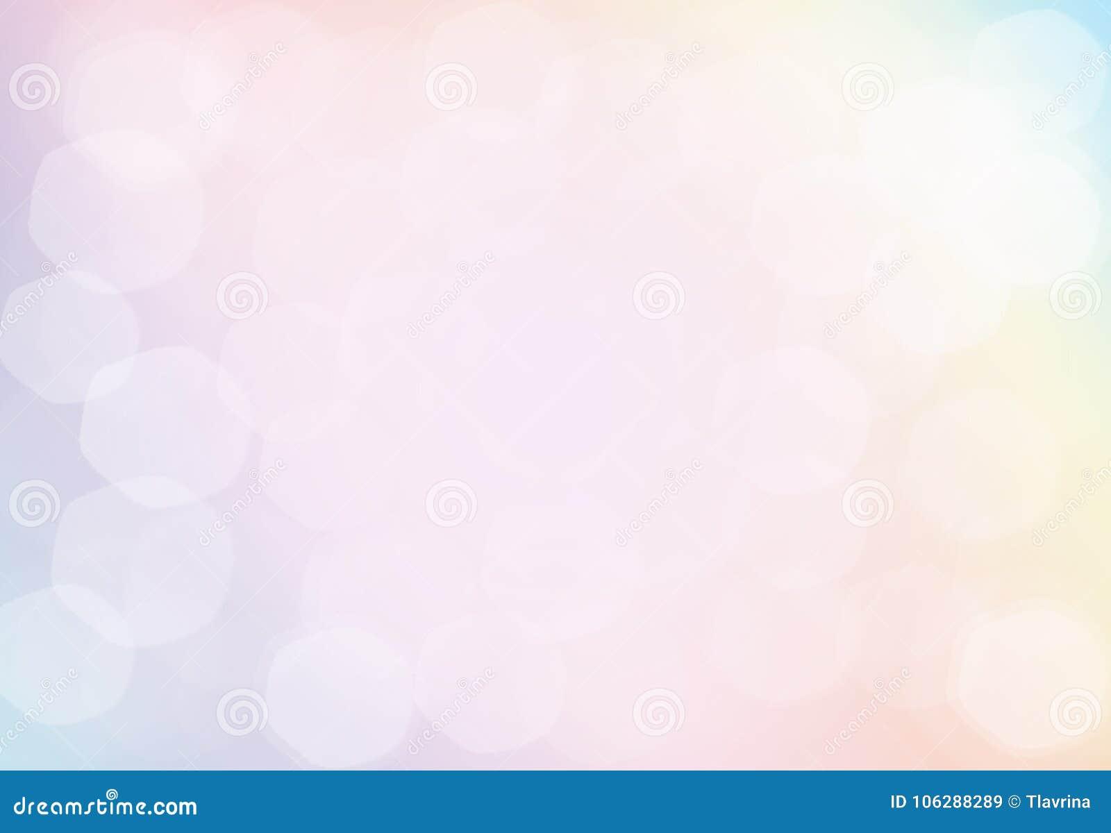 De abstracte Roze Achtergrond van Defocused van Pastelkleur Gouden Kerstmis licht