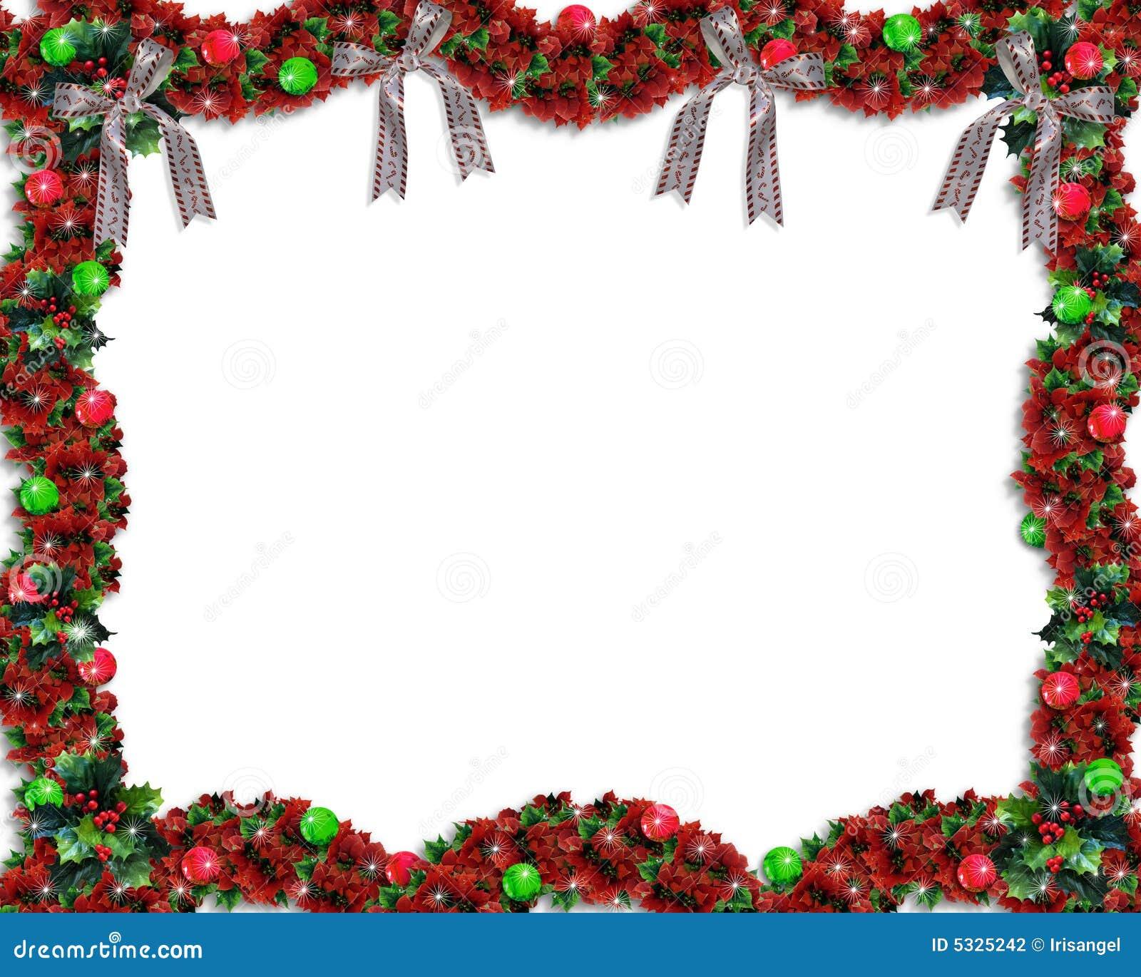 De Achtergrond Of De Grens Van De Slinger Van Kerstmis