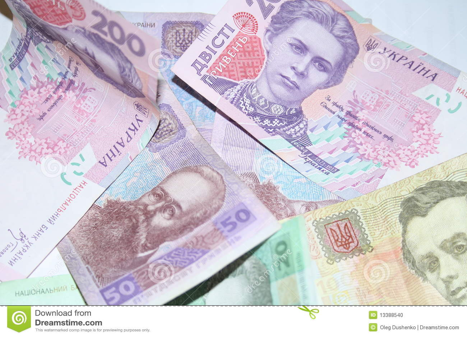De achtergrond van bankbiljetten