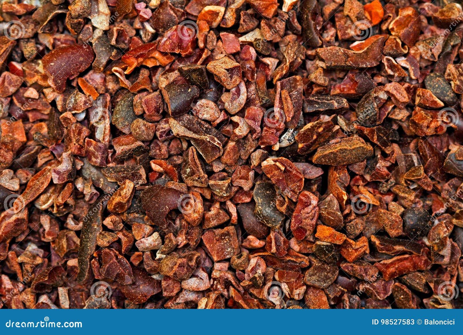 De achtergrond van cacaobonen