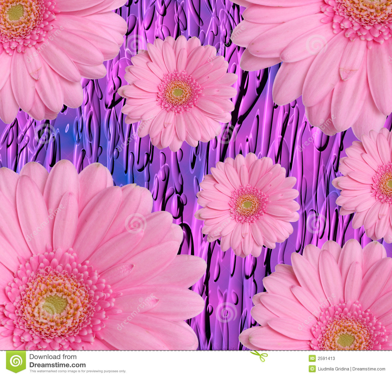 De achtergrond van de bloem