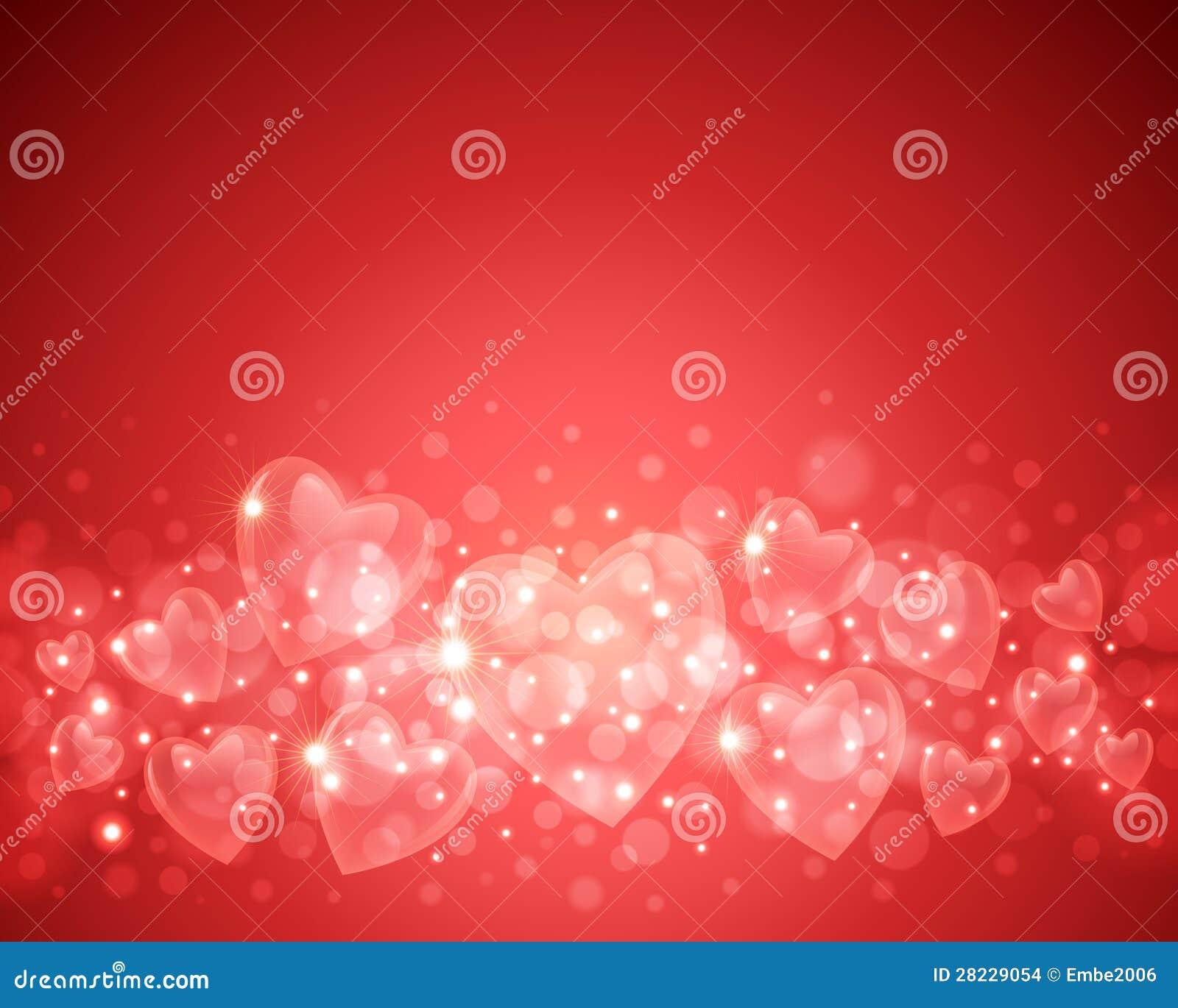 De Achtergrond van de Dag van de valentijnskaart