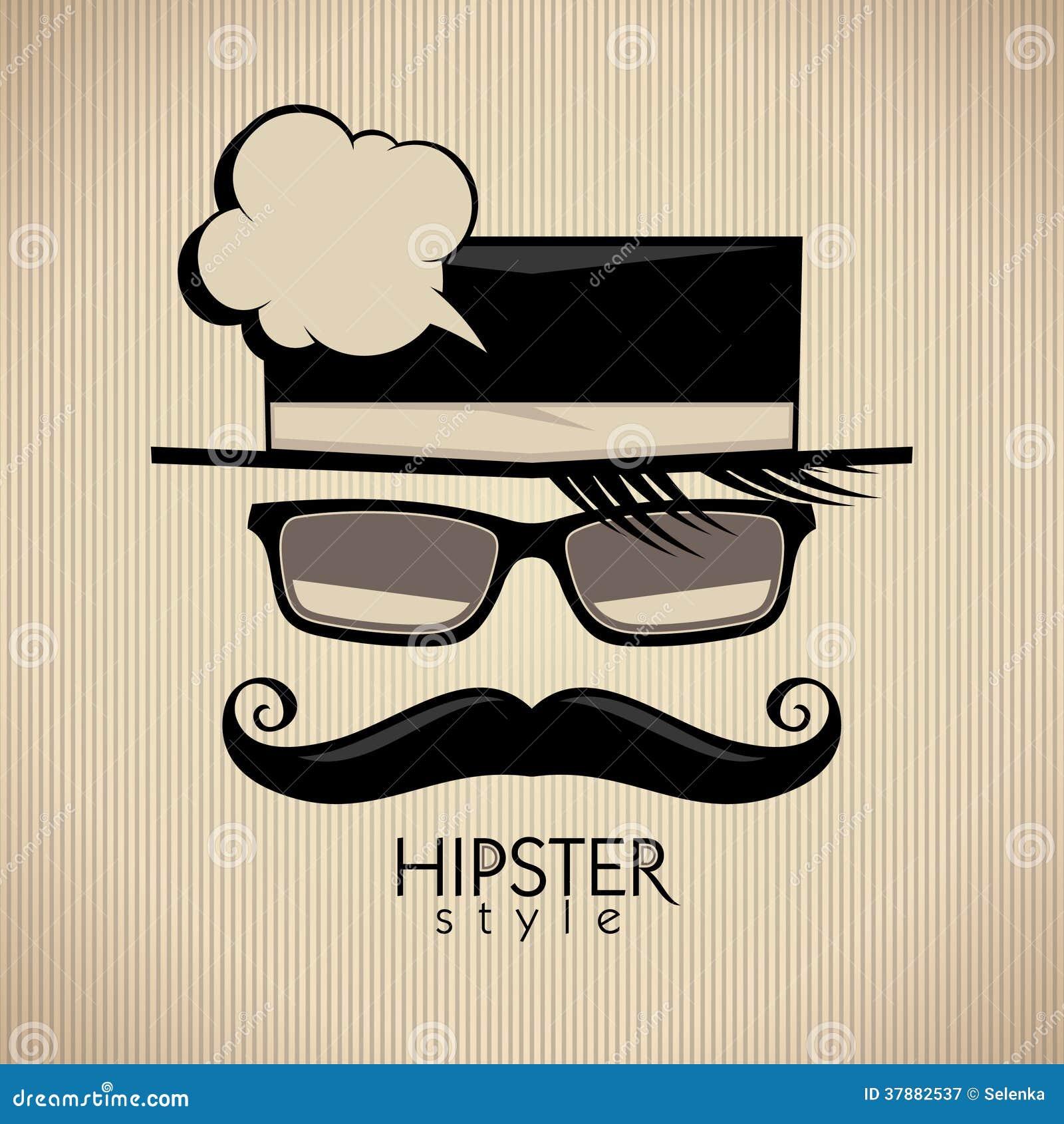 De achtergrond van de Hipsterstijl.
