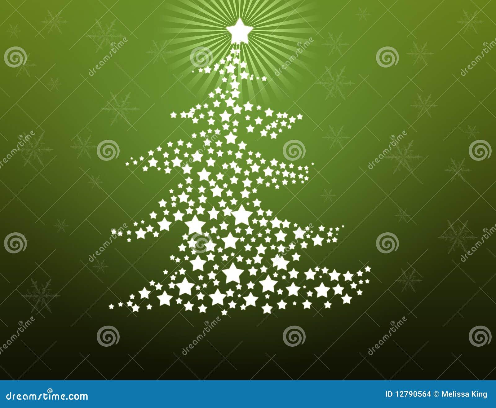 De achtergrond van de kerstboom