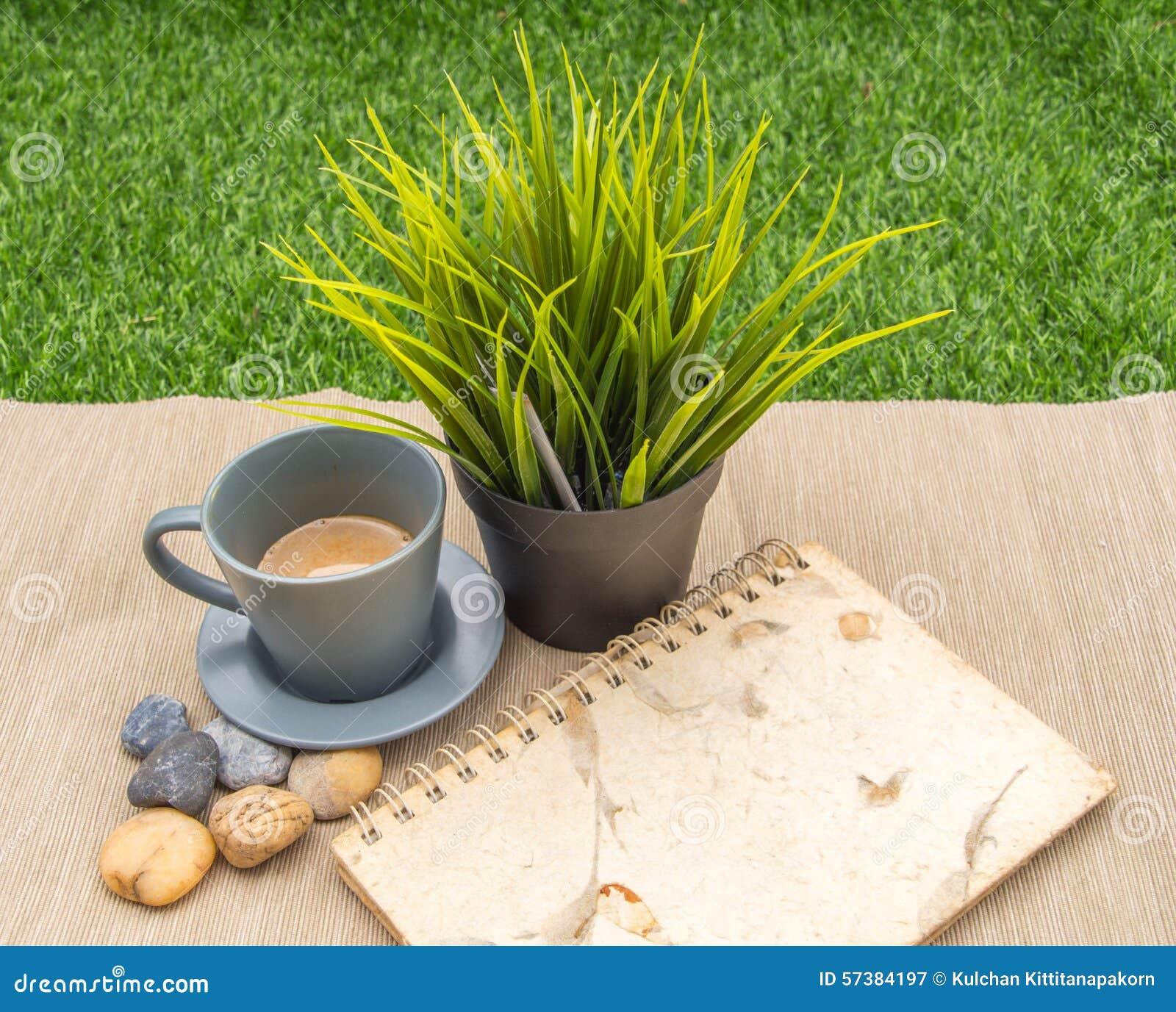 De achtergrond van de koffievertoning