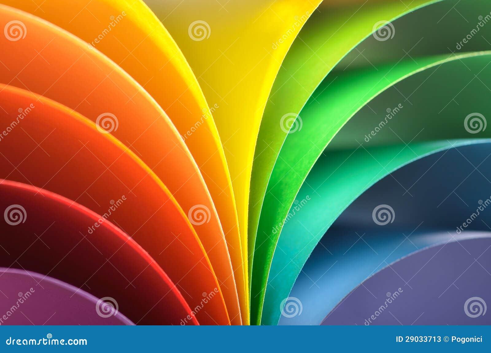 De achtergrond van de regenboog