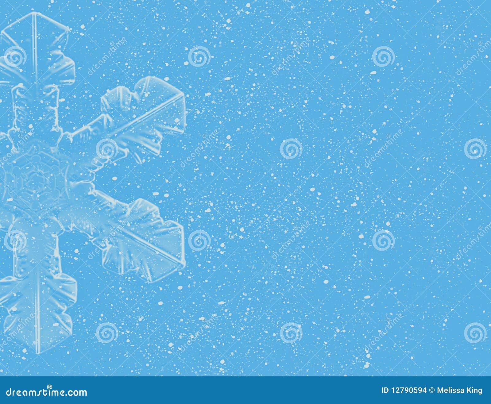 De Achtergrond van de sneeuwvlok