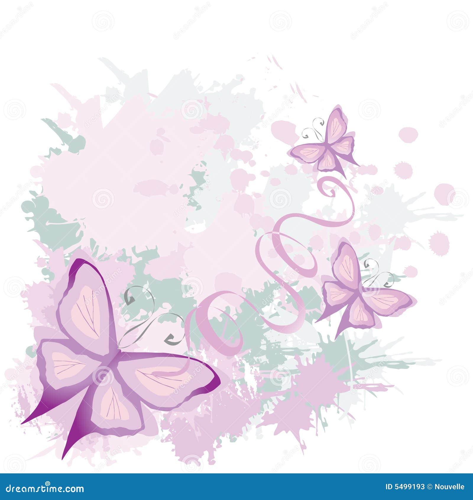 De achtergrond van de vlinder