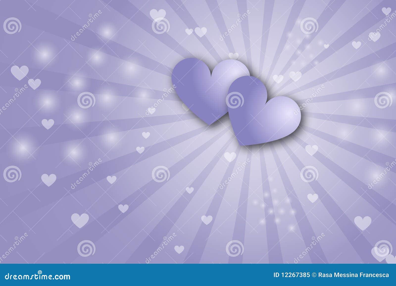 De achtergrond van harten - valentijnskaartthema