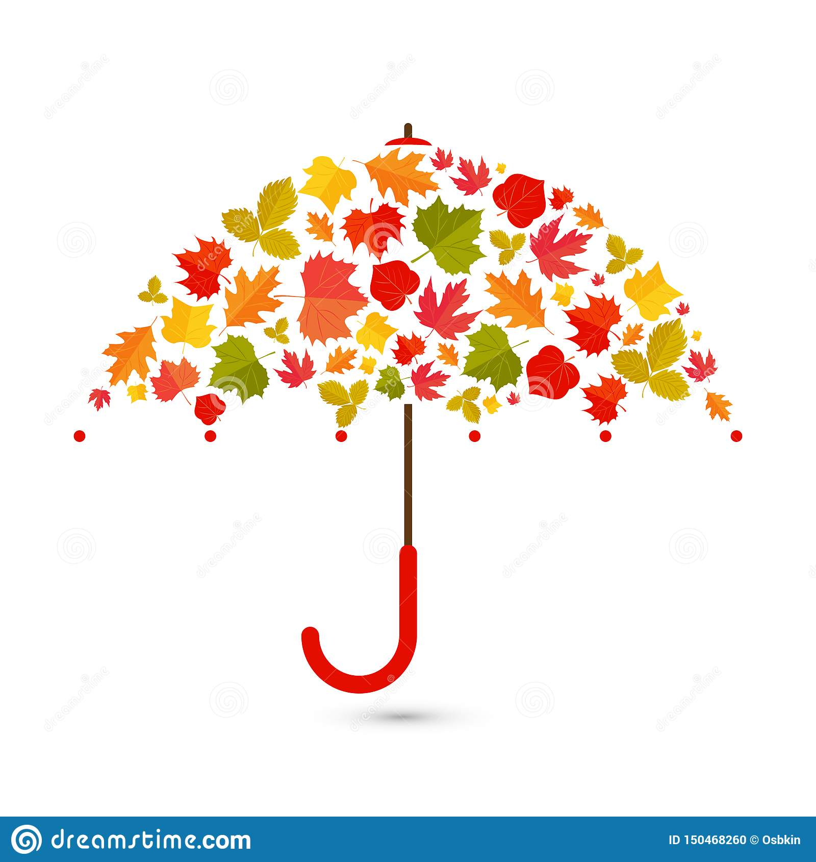 De achtergrond van de herfst Rode en oranje het bladclose-up van de kleurenKlimop Paraplu van bladeren
