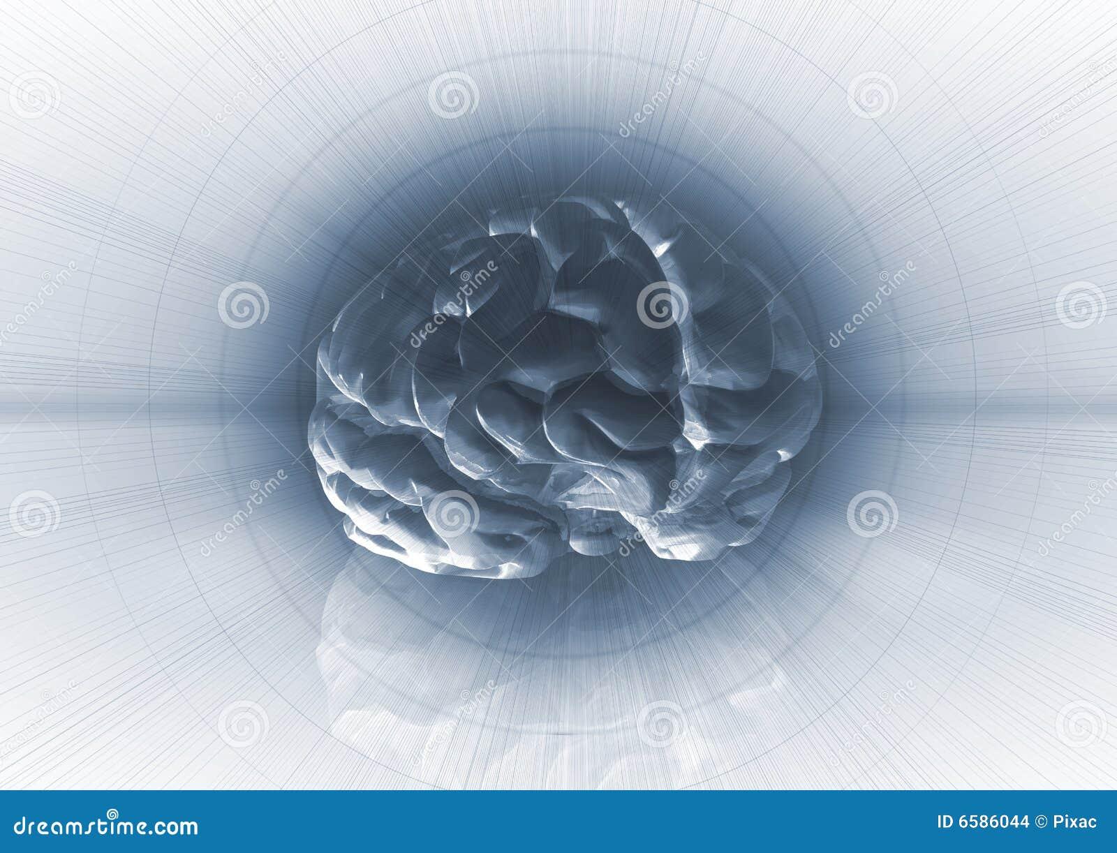 De Achtergrond van hersenen