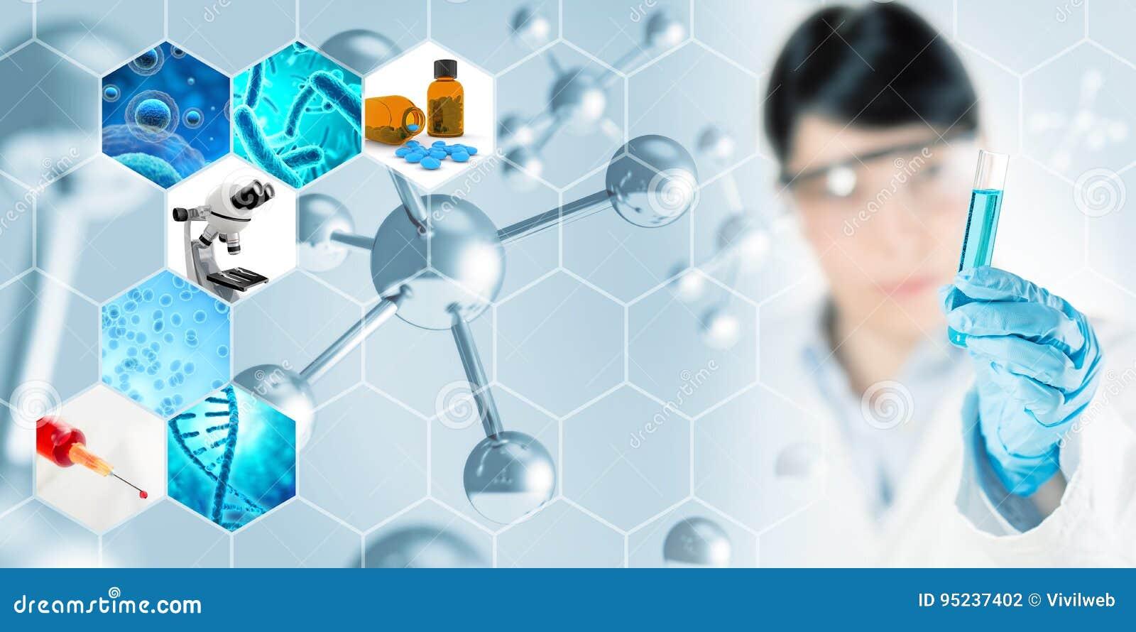 De achtergrond van het de microbiologieonderzoek