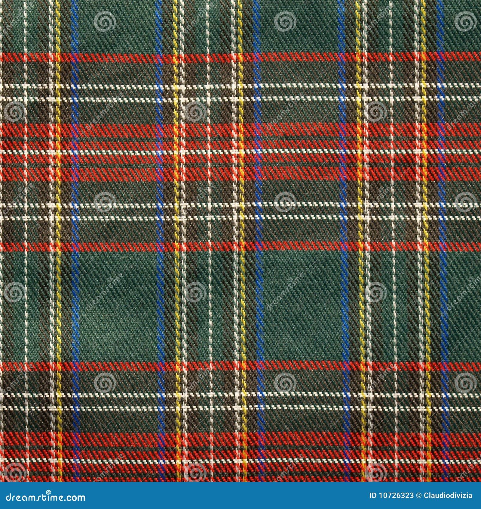 Schotse Geruite Wollen Stof.De Achtergrond Van Het Geruite Schotse Wollen Stof Stock