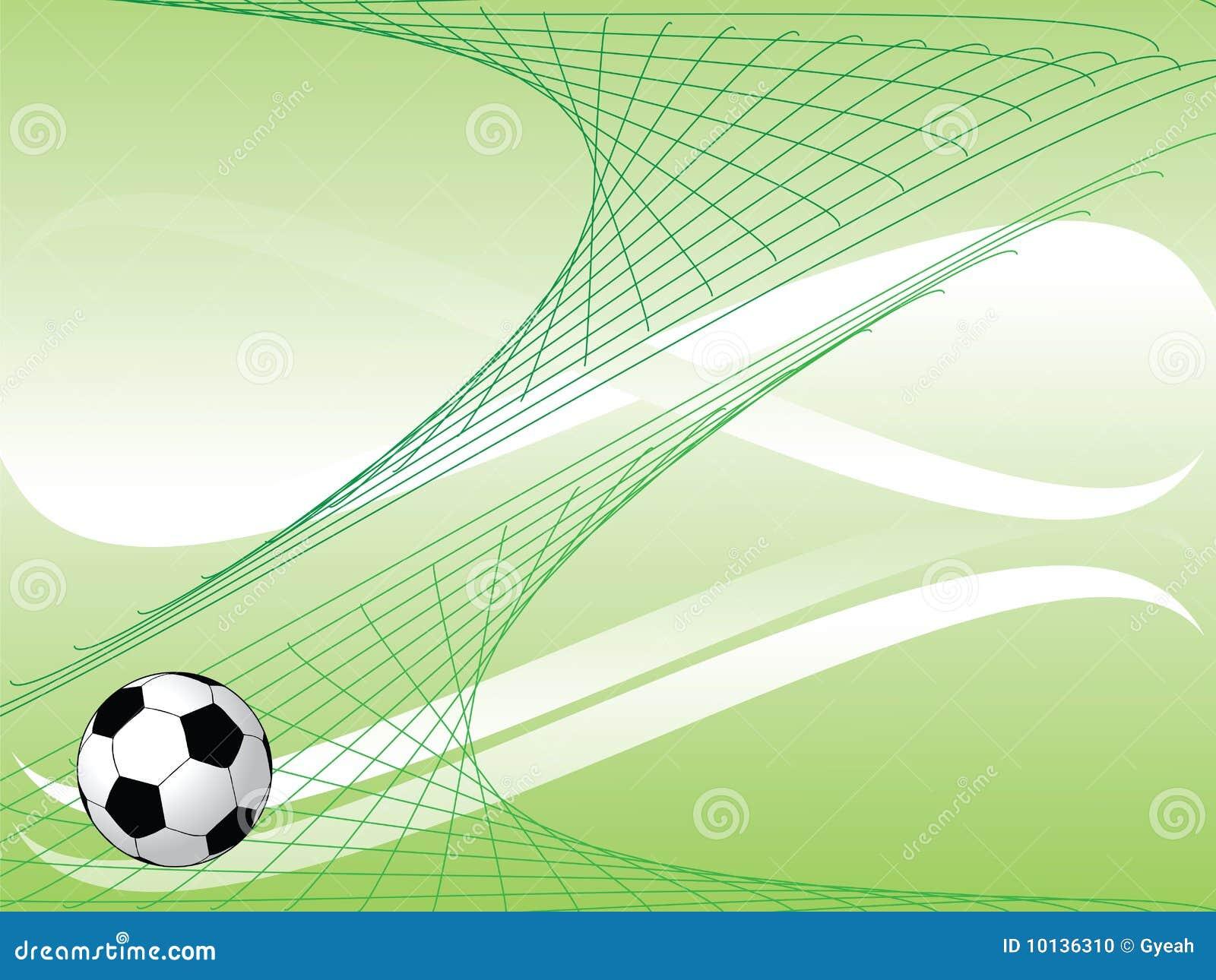 Deportes Pelotas Fondo Grunge: De Achtergrond Van Het Voetbal Stock Foto