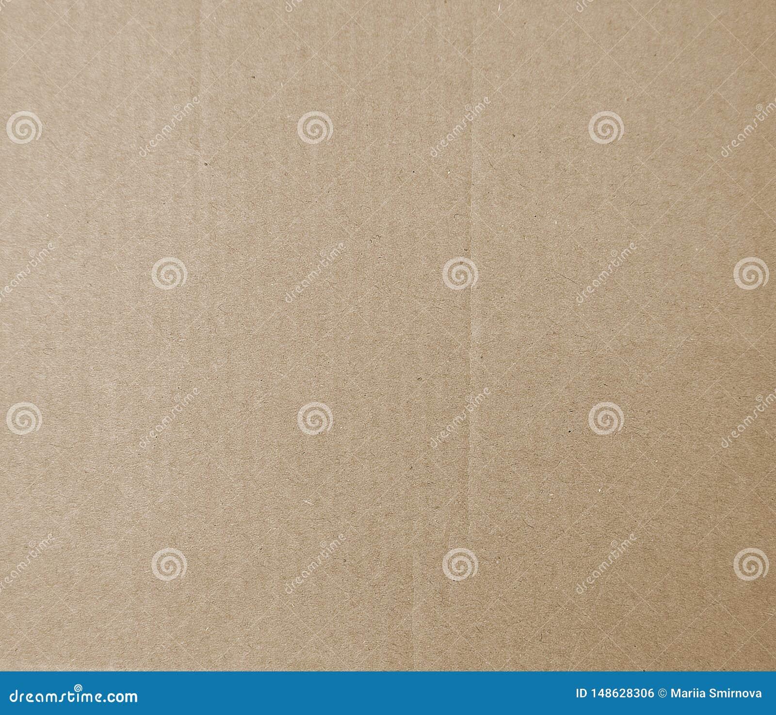 De achtergrond van de kartontextuur