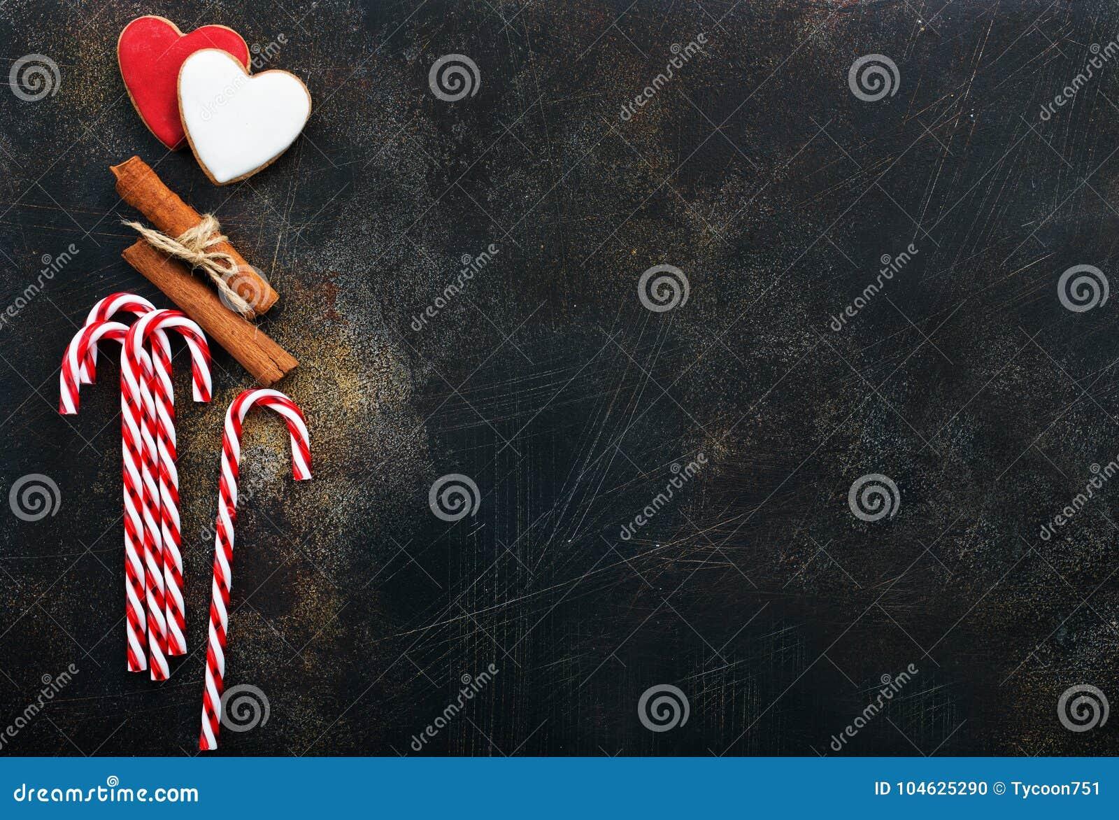 Download De Achtergrond Van Kerstmis Stock Foto - Afbeelding bestaande uit suikergoed, kerstmis: 104625290