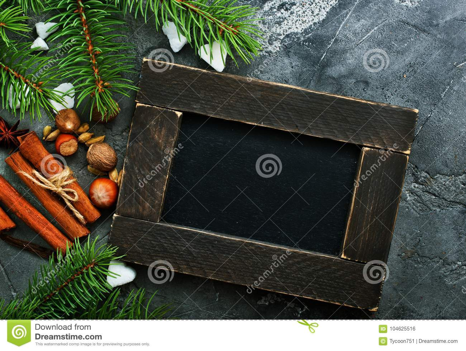 Download De Achtergrond Van Kerstmis Stock Foto - Afbeelding bestaande uit modern, kaneel: 104625516