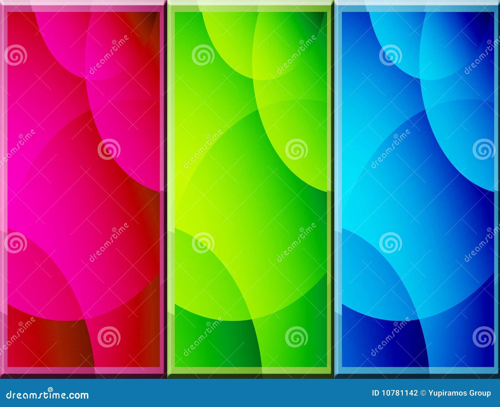 De achtergrond van kleuren