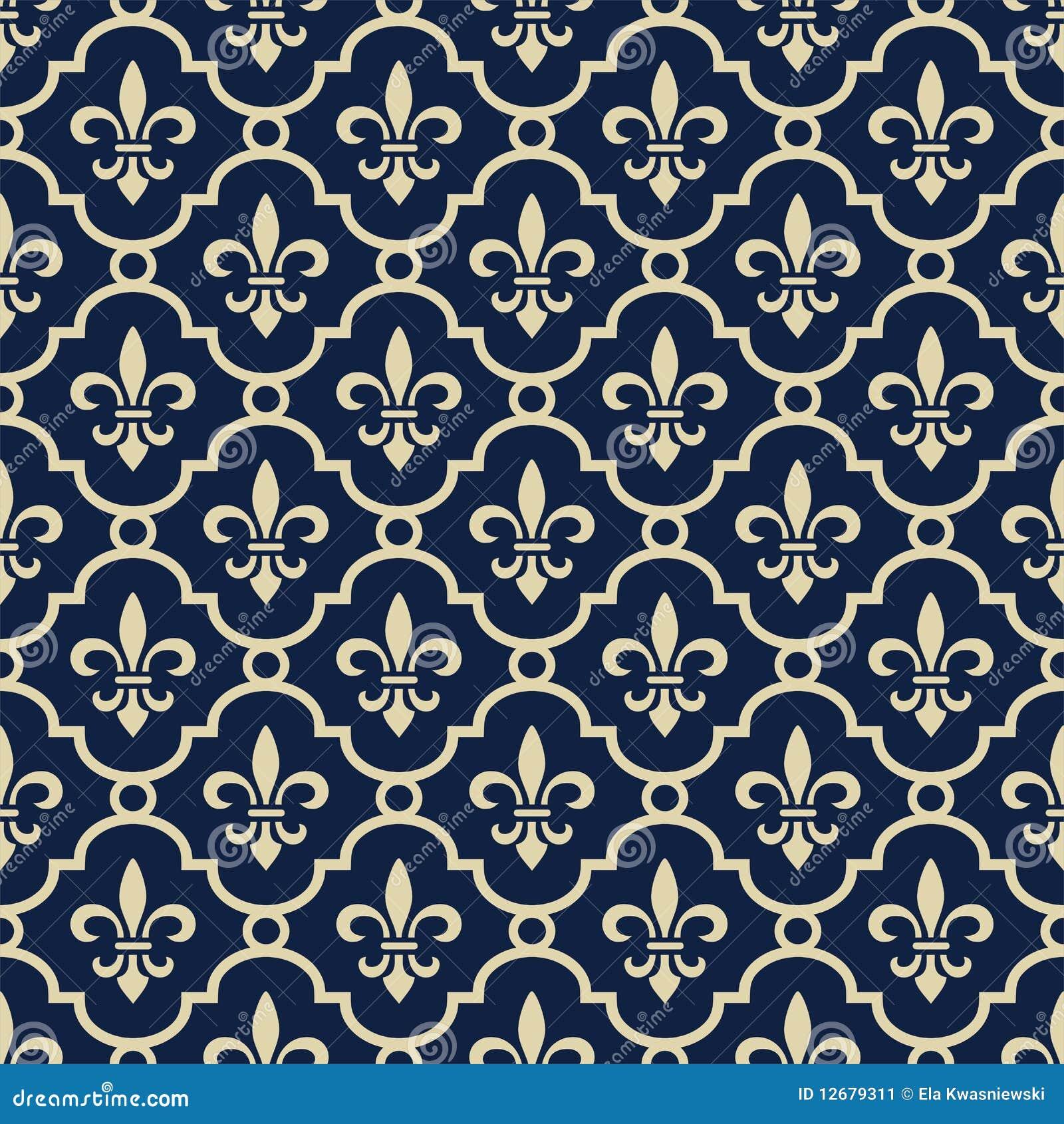 De achtergrond van koningsblauwen