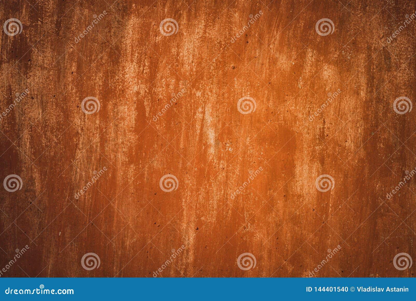 De Achtergrond van de metaalroest, oude de roesttextuur van het metaalijzer, roest op de oppervlakte