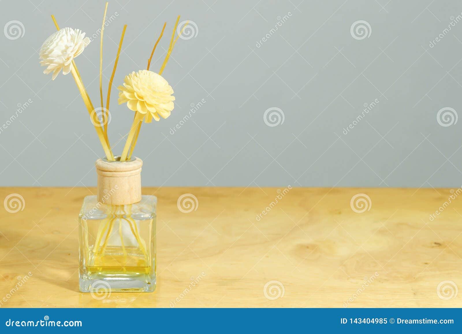 De Achtergrond van de parfumfles