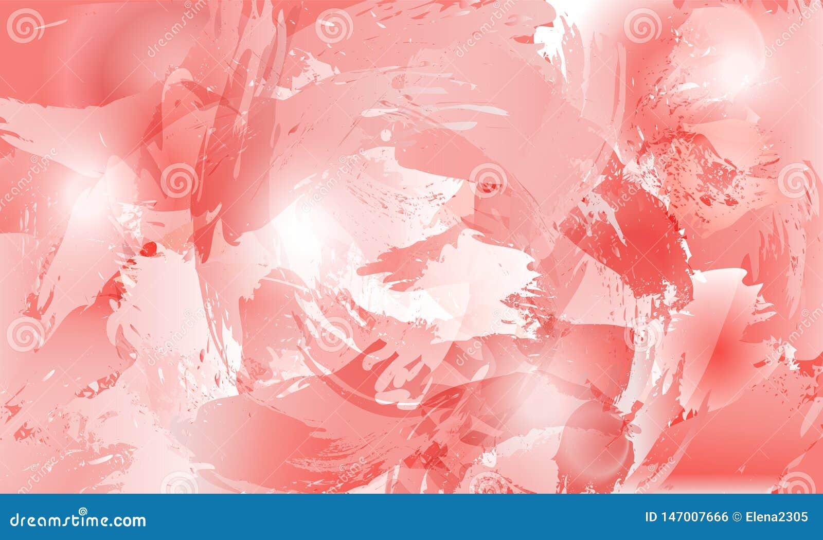 De achtergrond van de plonsbloem in roze tinten