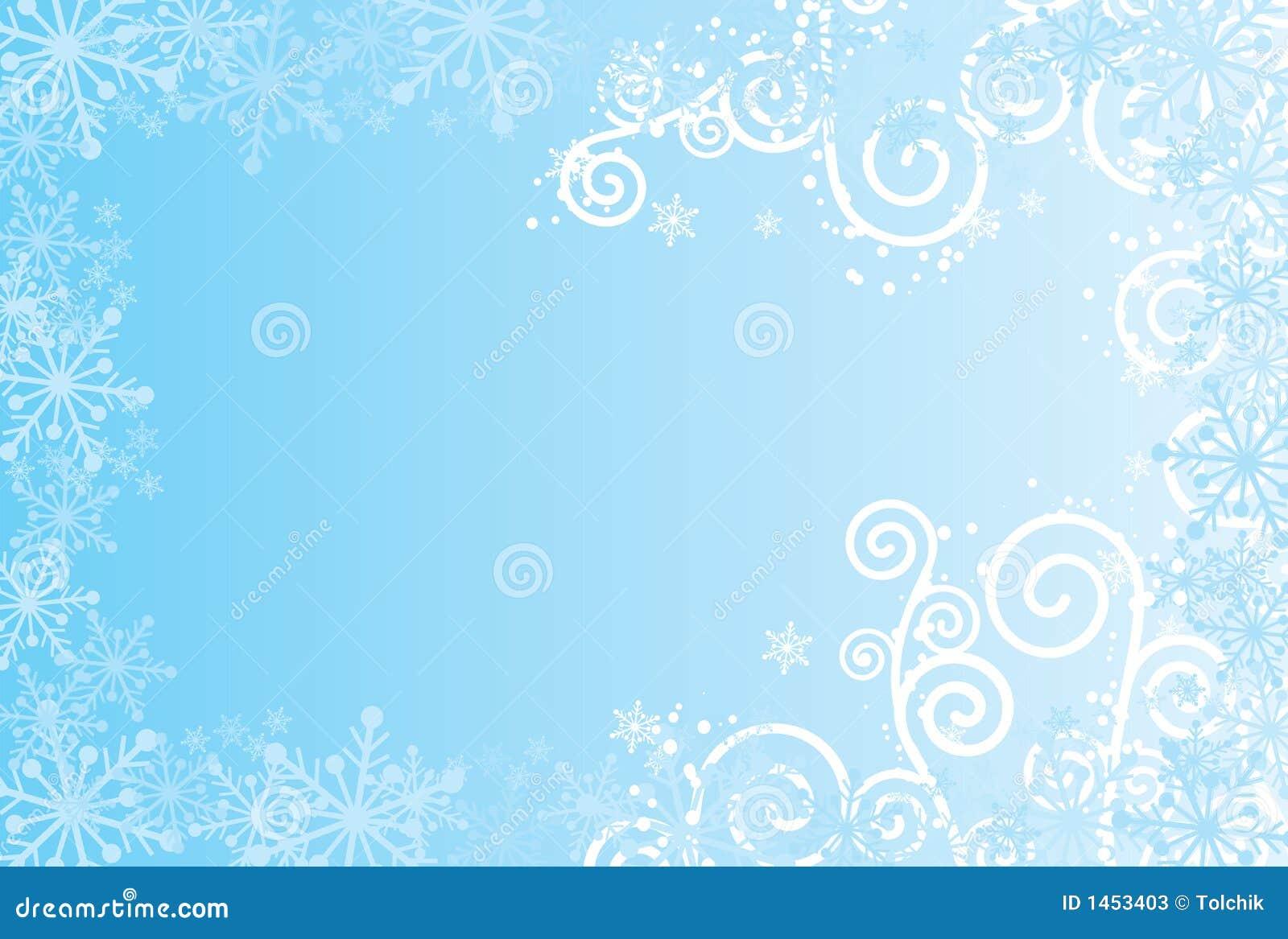 De Achtergrond Van Sneeuwvlokken, Vector Vector ...