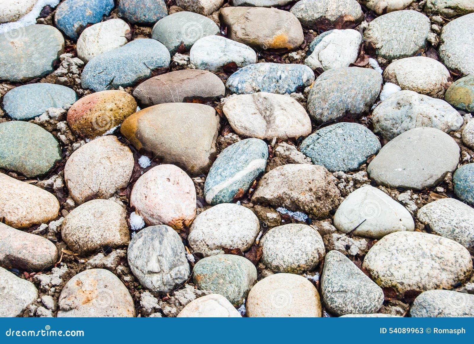De achtergrond van stenen