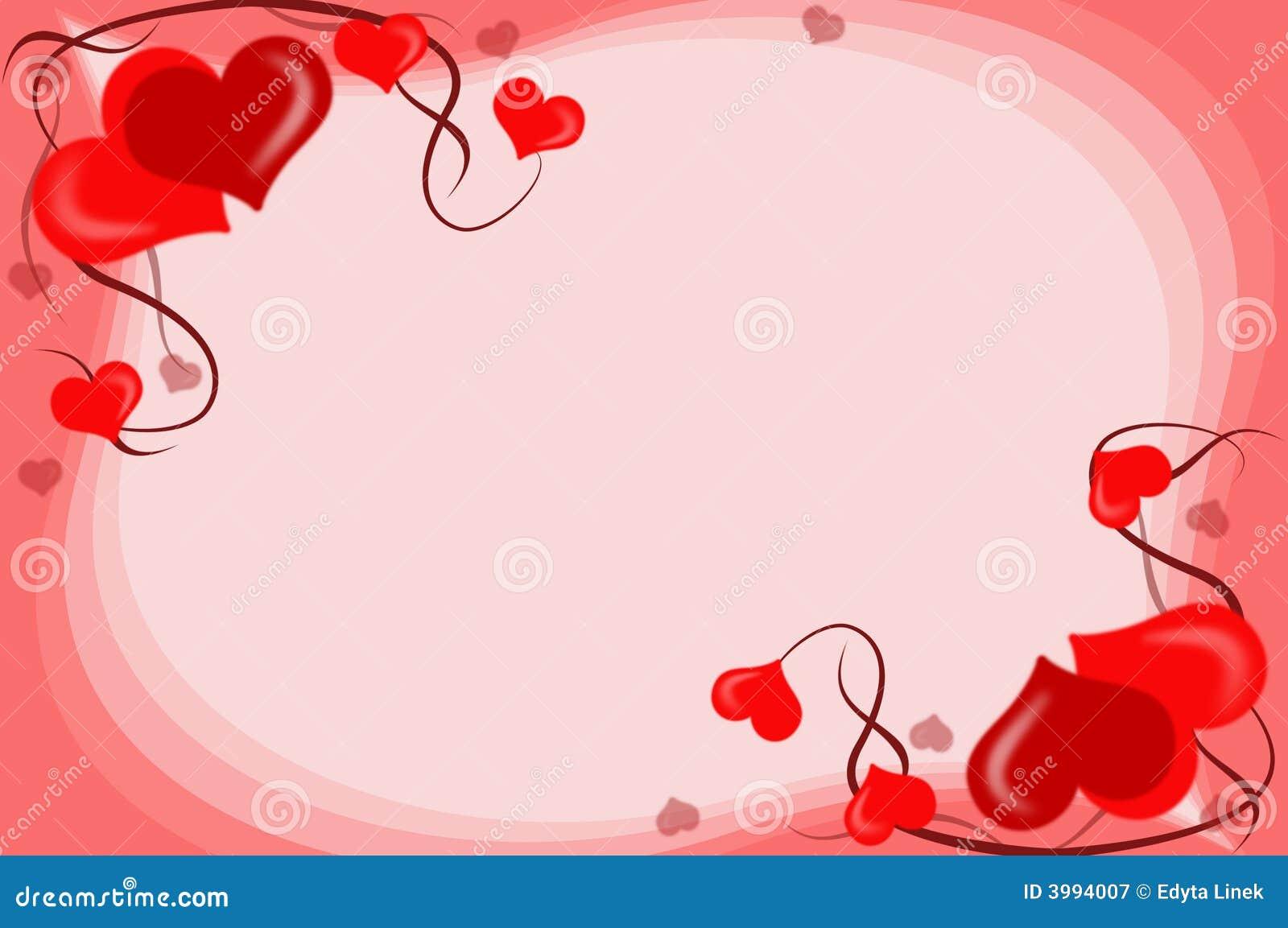 De achtergrond van valentijnskaarten