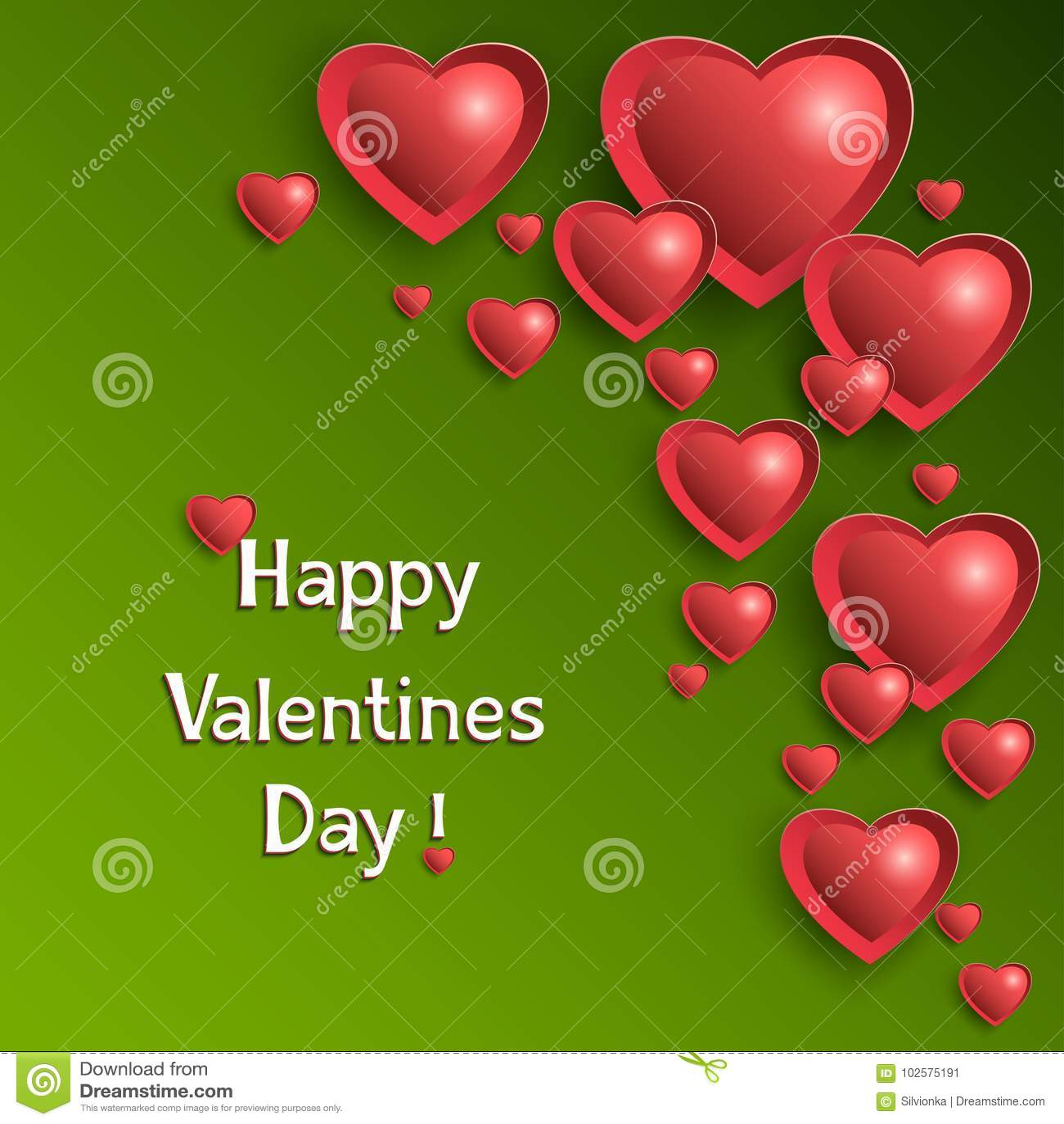 De achtergrond van de valentijnskaartendag met gloeiende harten