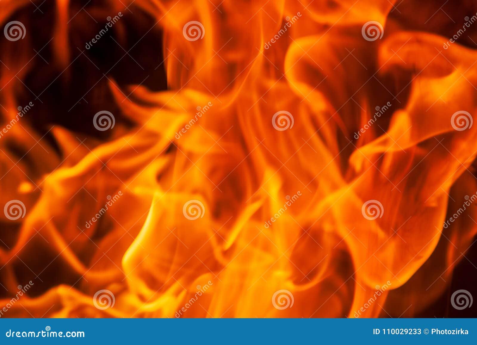 De achtergrond van de de vlamtextuur van de uitbarstingsbrand