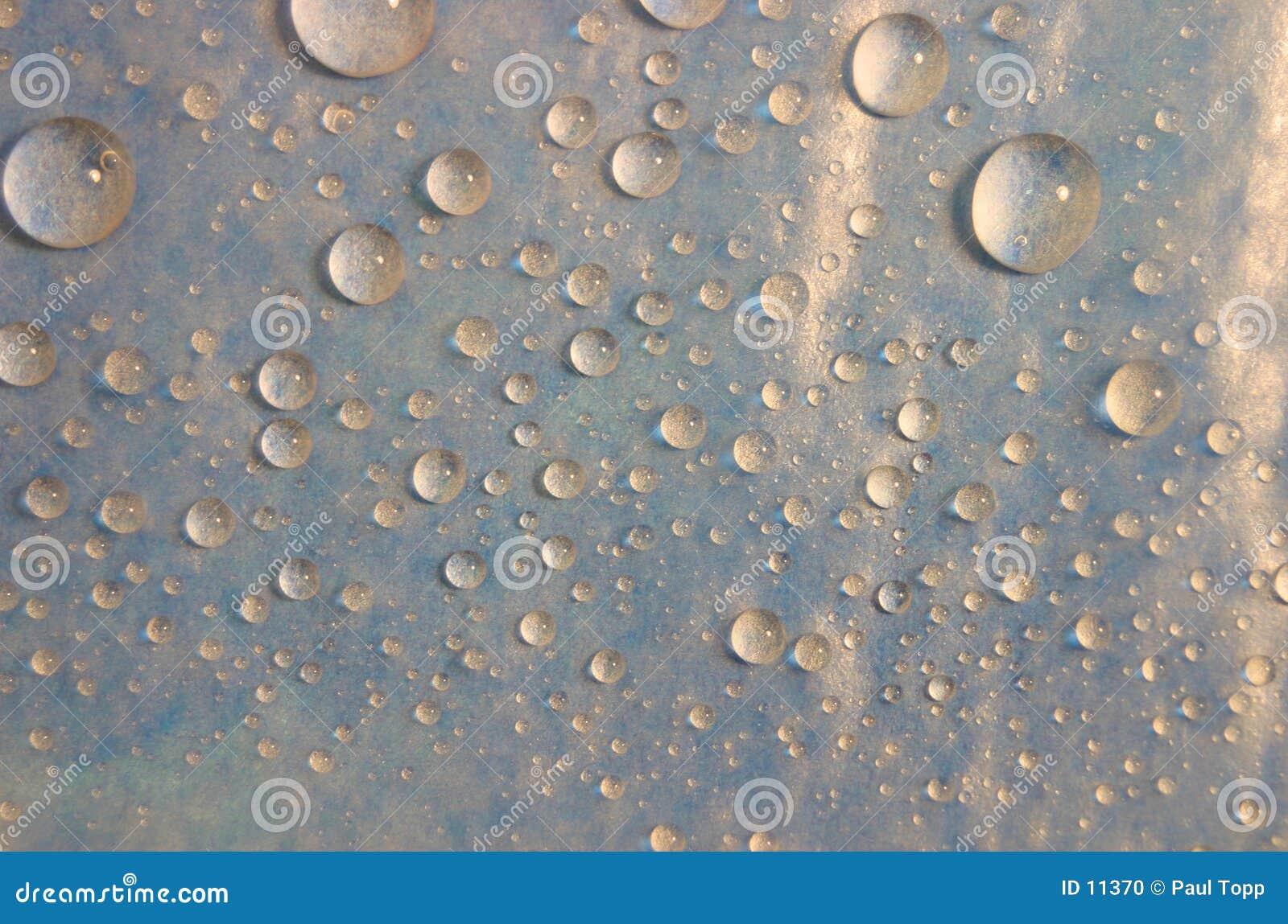 De Achtergrond van Waterdrops