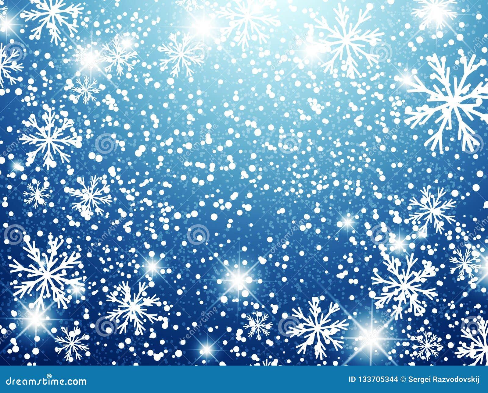 De achtergrond van de de wintervakantie