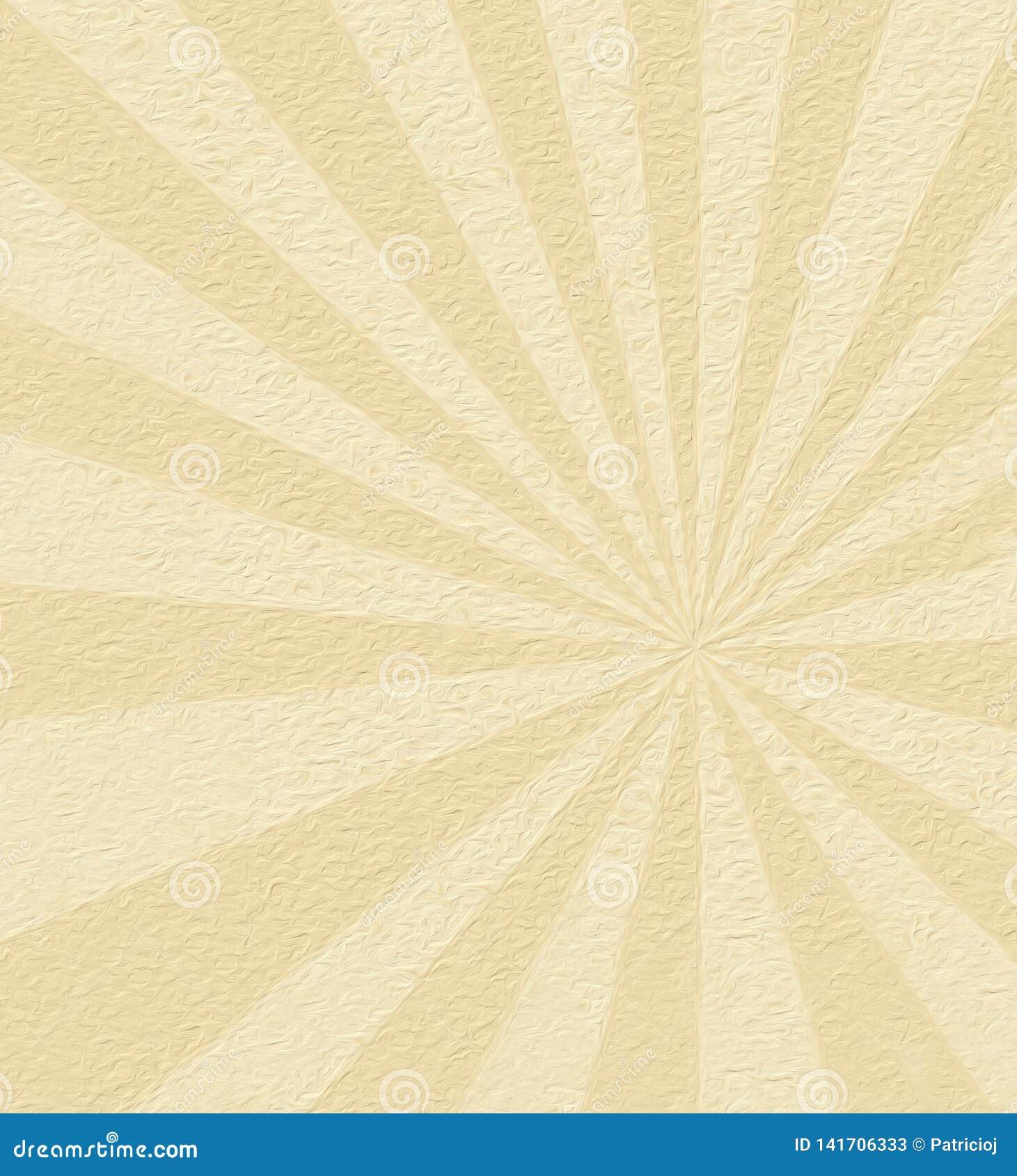 De achtergrond van de zonnestraal
