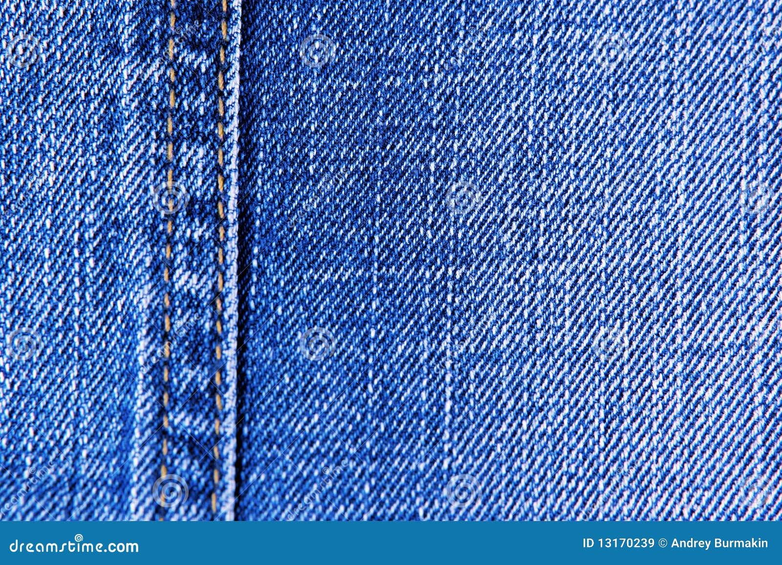 De achtergronden van de jeans