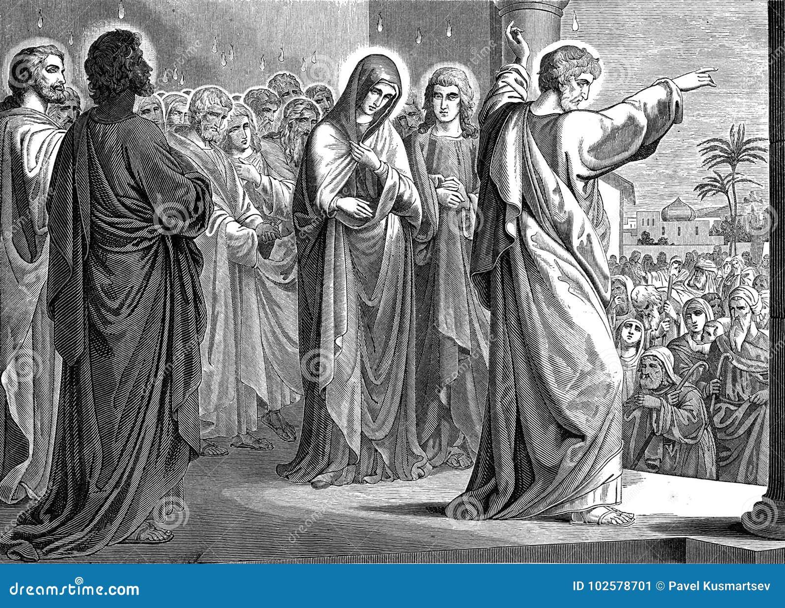 De afdaling van de Heilige Geest