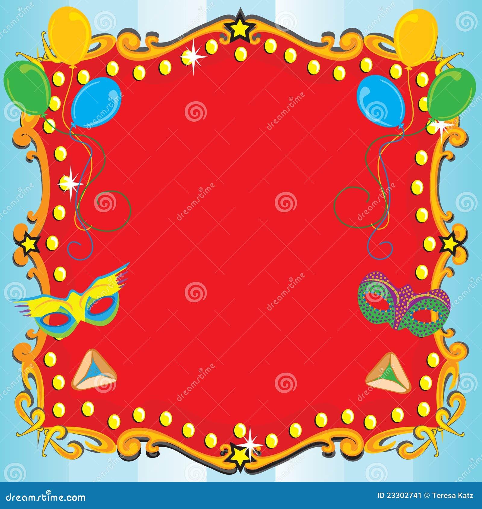 Carnival Theme Invitation with adorable invitations ideas