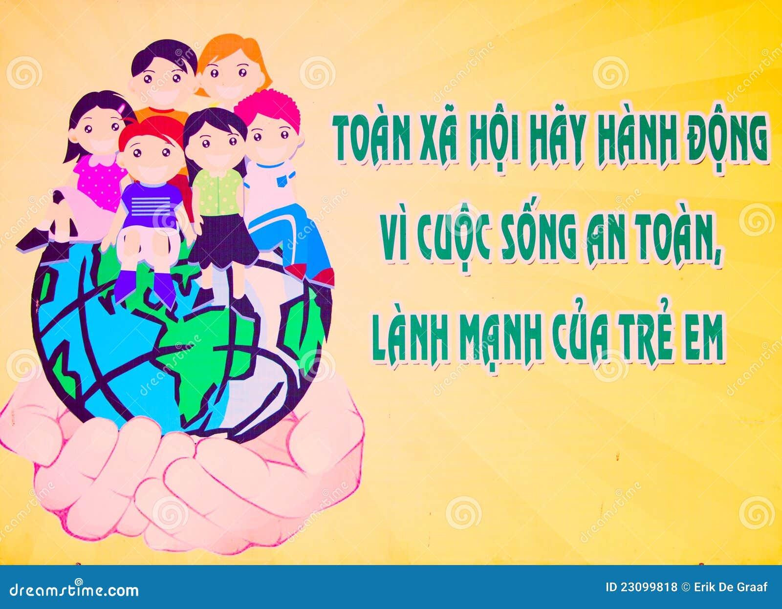 De affiche van Vietnam