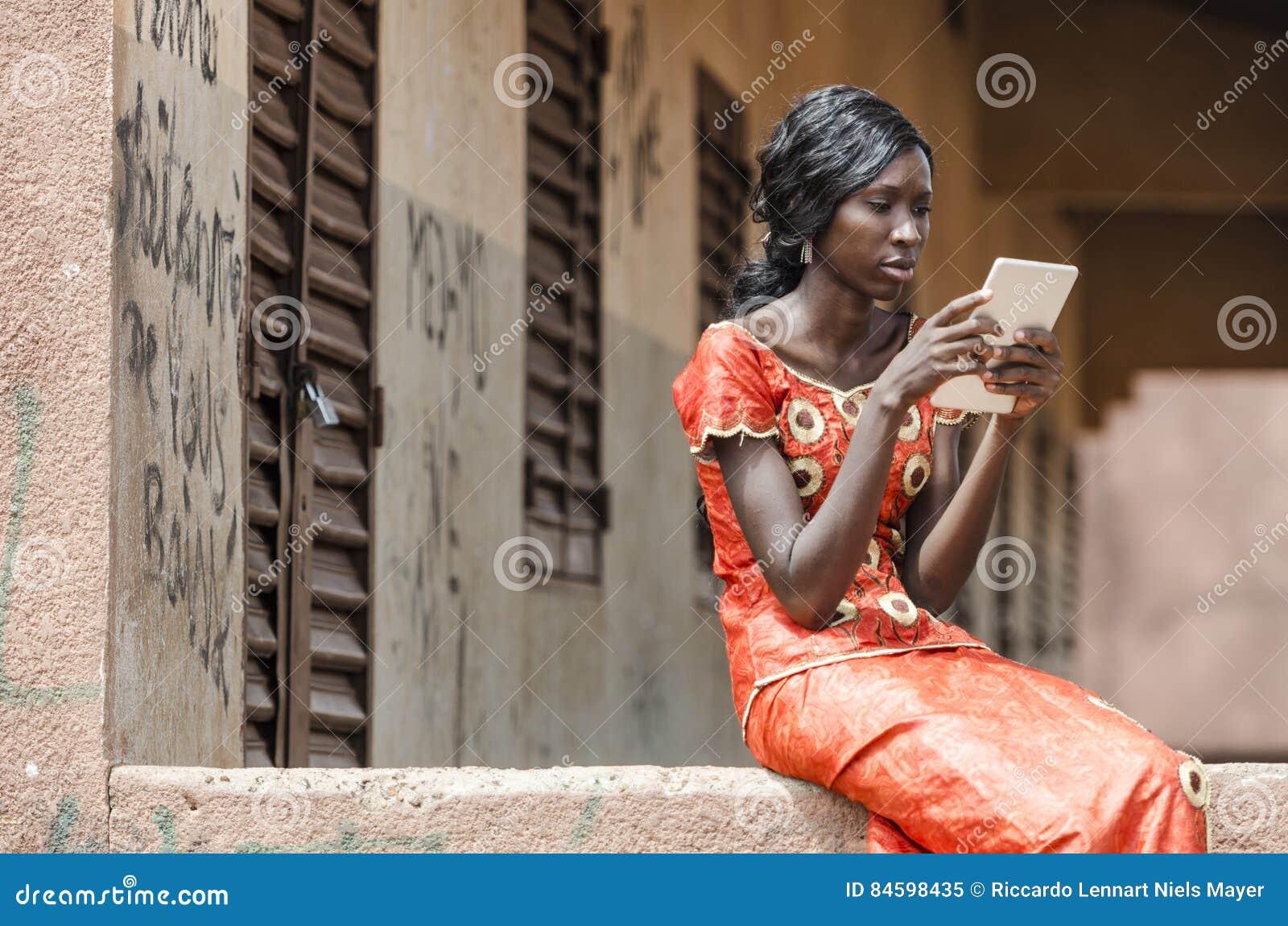 Hete zwarte afrikaanse meisjes